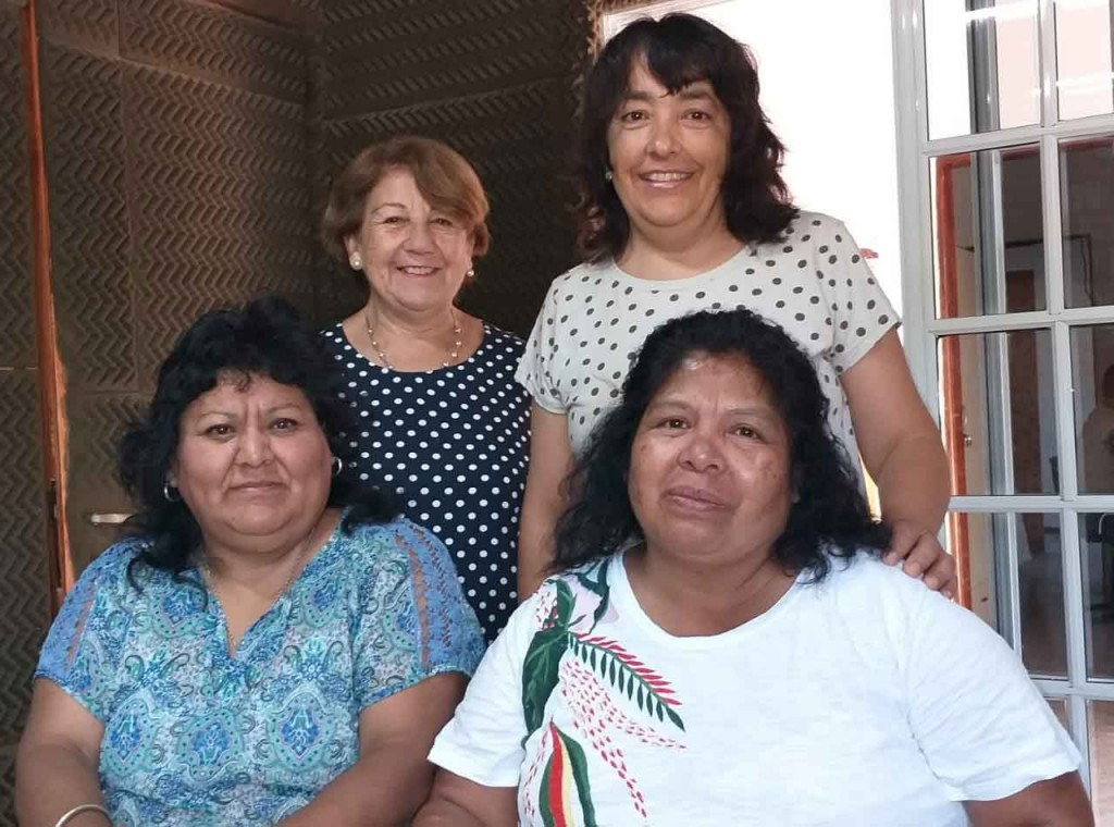 Lili, Teresa e Itatí y el gran desafío de ser maestro rural en el Norte Argentino