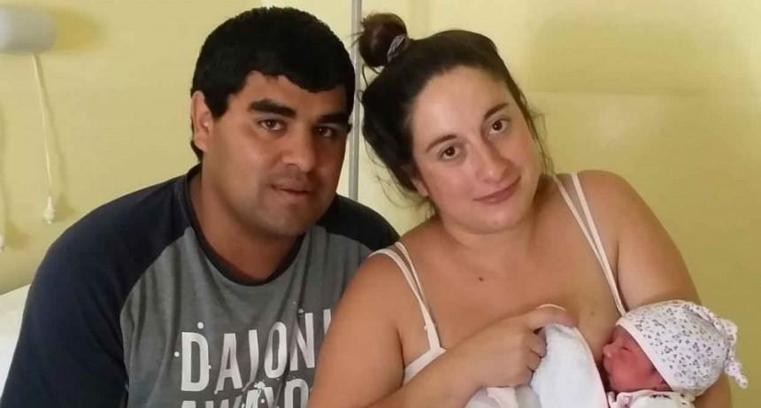 Nahiara Emilia Teves es la primera bebe del año 2020 en Bolívar