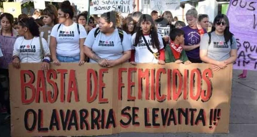 Olavarría: Masiva marcha en reclamo de políticas en materia de violencia de Género
