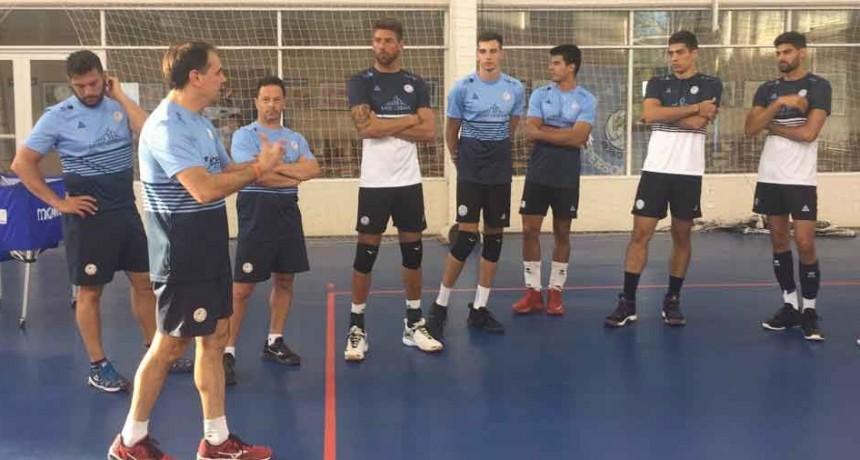 Bolívar Voley volvió a los entrenamientos pensando en la segunda parte de la temporada