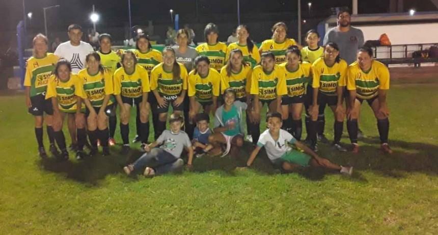 Con excelente marco de público comenzó el Torneo Interno de los Barrios de Futbol Femenino