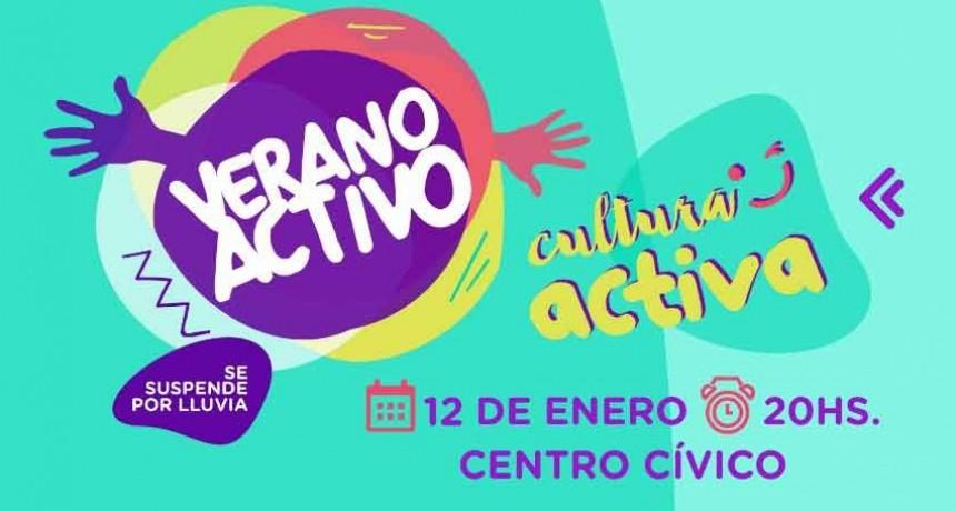 Este domingo vuelve la propuesta cultural Verano Activo al Centro Cívico