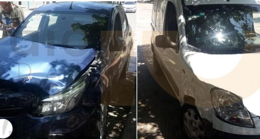 Leve impacto sin mayores consecuencias en Avenida Alsina y calle Dorrego