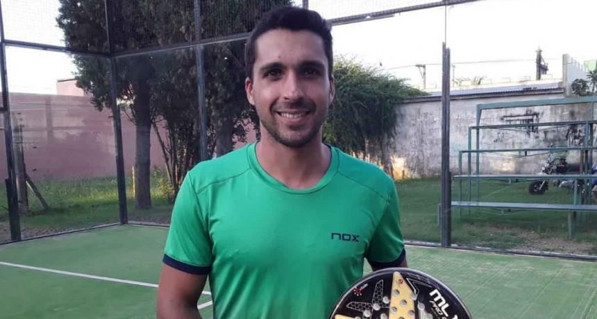 Andrés Britos: 'Lucho día a día para estar en la elite del padel mundial'