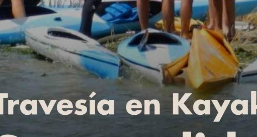 Laguna Alsina: se suspende la travesía en kayak hasta nuevo aviso
