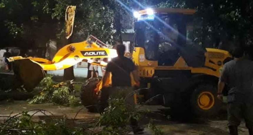 Saladillo en emergencia luego del temporal; la provincia se puso a disposición