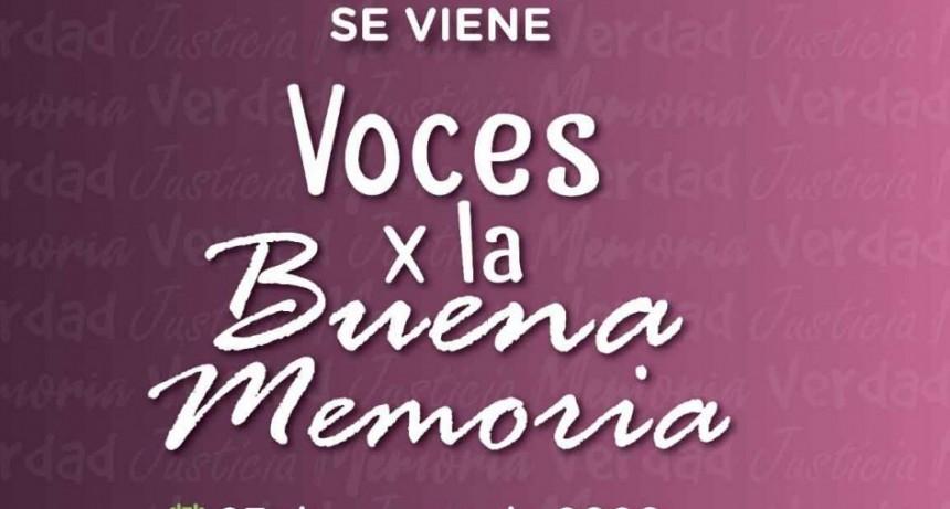 Se encuentra abierta la convocatoria para la jornada teatral 'Voces x la buena memoria'