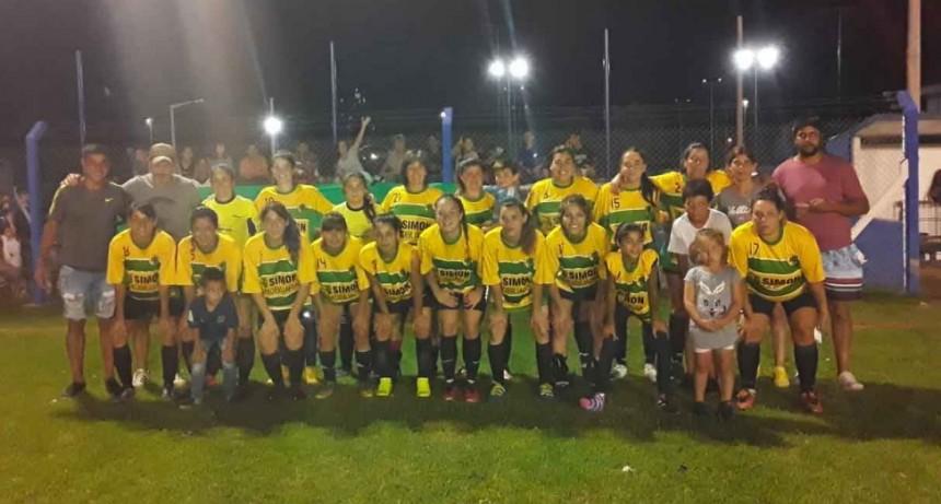Se jugo la 3º fecha del Torneo Interno de los Barrios de Futbol Femenino