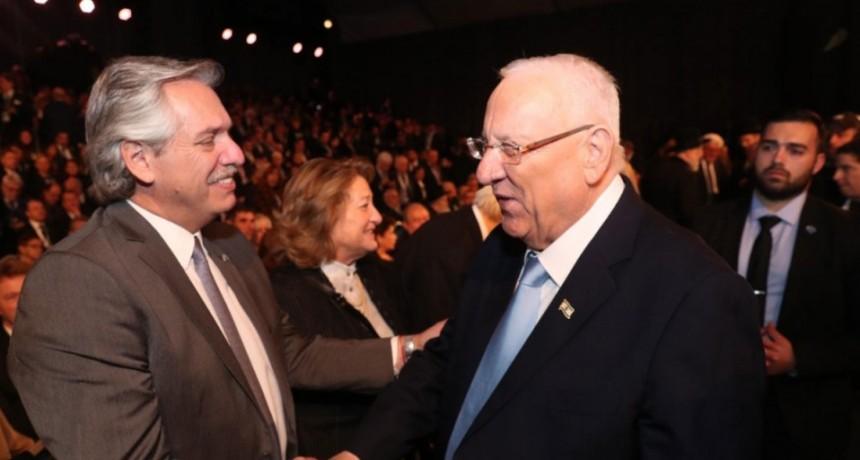 El presidente Alberto Fernández participa del V Foro Mundial del Holocausto