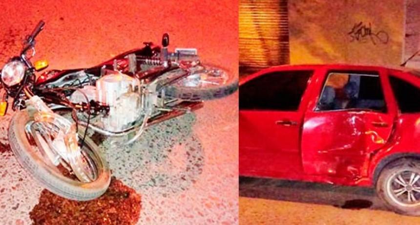 Dos conductores protagonizaron un fuerte impacto