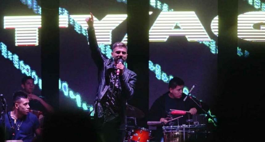 Tyago Griffo cerró la última noche del festival Bolívar Cumbia 2020