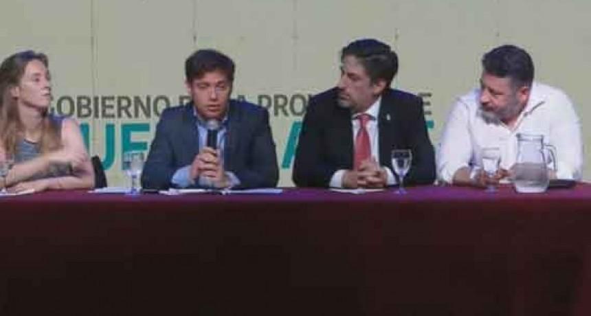 Programa Escuelas a la obra: Kicillof prometió saldar la deuda en materia educativa