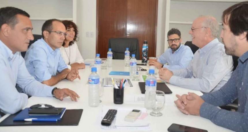 El Intendente Pisano se reunió con el Ministro de Salud de la Provincia de Buenos Aires