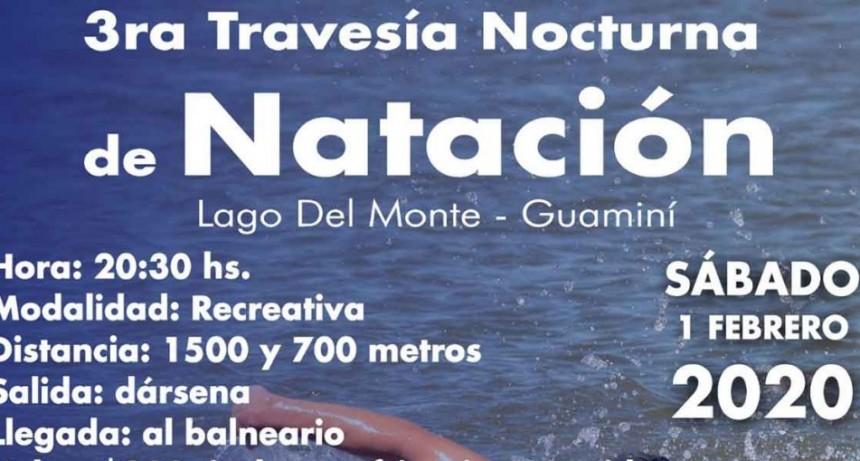 Este sábado 1️ de febrero se viene la tercera travesía nocturna en Lago del Monte