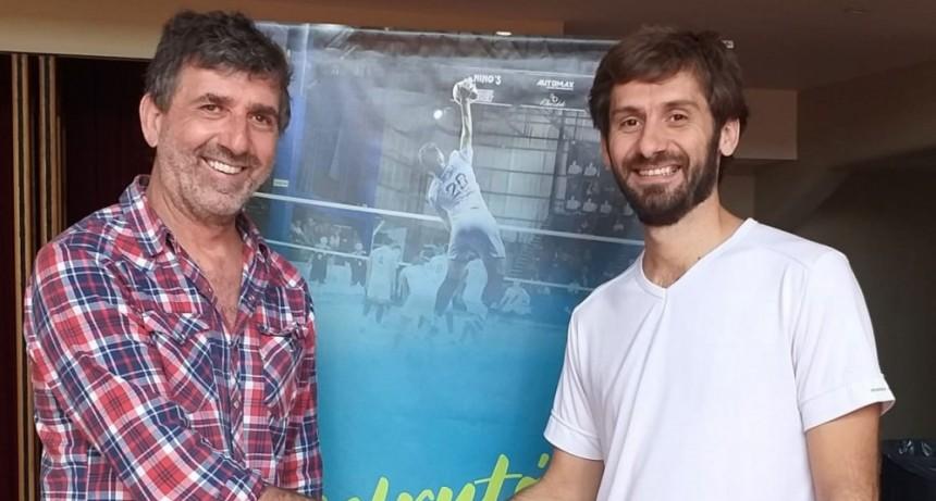 """Emilio Leonetti recibió al director de Turismo y Promoción Cultural de la ciudad de 25 de Mayo, Sergio """"Pasta"""" Dioguardi"""
