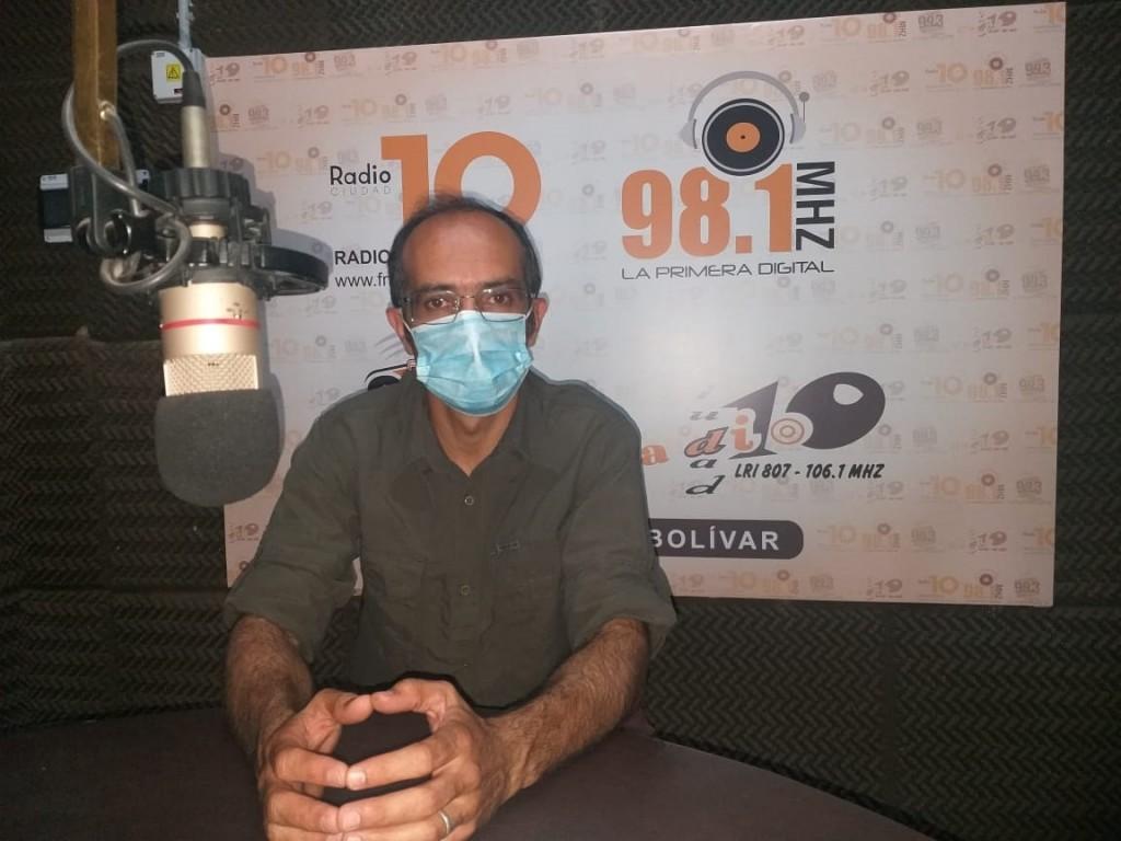 """Marcos Pisano: """"Tal vez cometimos errores, pero siempre la prioridad fue la salud de los bolivarenses"""""""