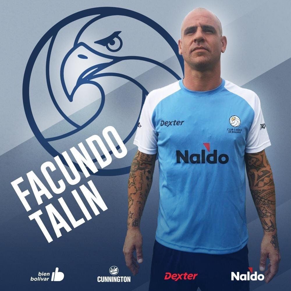 """Facundo Talín: """"La charla que tuve con Mauricio hizo que yo me decidiera por el proyecto"""""""