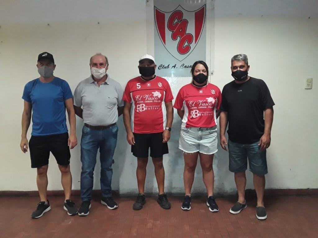 Presentación del Fútbol Femenino en Club Casariego