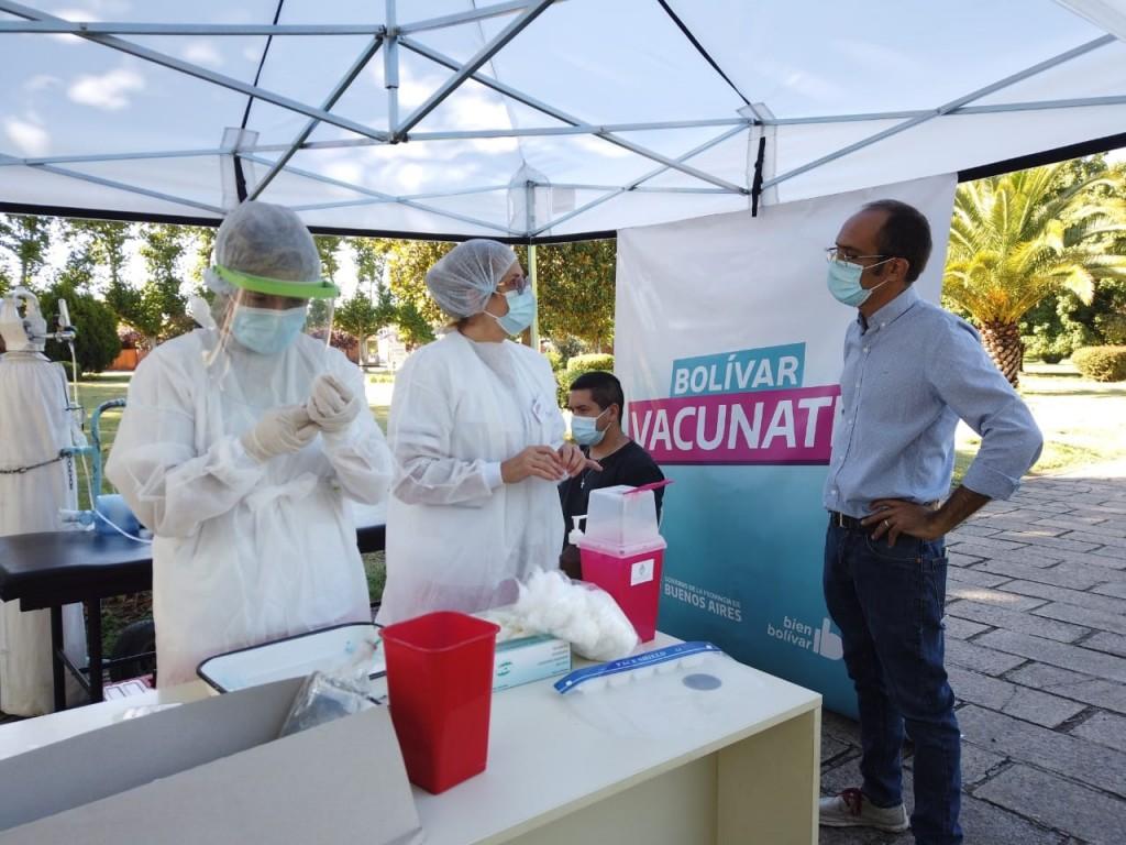 Marcos Pisano (Vacunación COVID19):