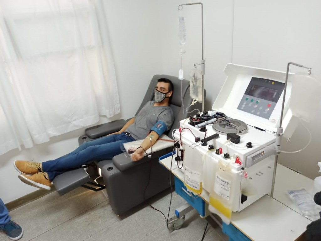Ya donaron plasma siete bolivarenses