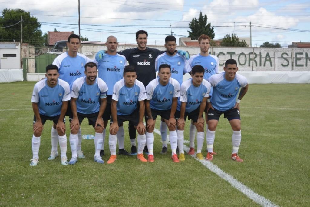El Club Ciudad de Bolívar mostró los dientes en Bahía y goleó a Bella Vista