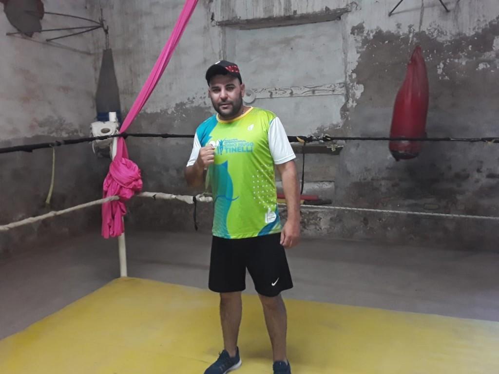 """Cristian Leandro: """"Los boxeadores se están cansando de entrenar y entrenar sin poder combatir, esperemos que esto cambie pronto"""""""