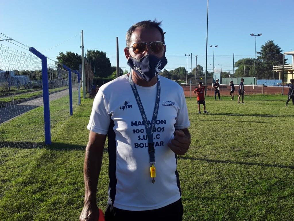 """Gastón Irastorza: """"Estamos retomando los entrenamientos para de a poquito, volver a la normalidad"""""""