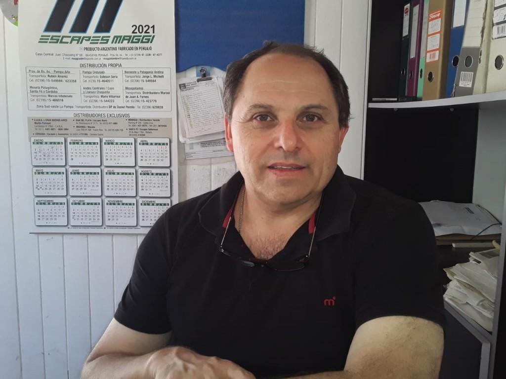 """Alberto Tomassini: """"El pasado lunes nos reunimos y ya tenemos todo arreglado para comenzar el torneo preparación a partir del último fin de semana de enero"""""""