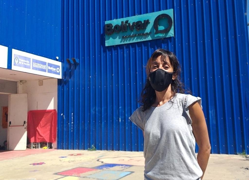 """Cecilia Ané (ATR DIAT): """"Esta es una experiencia única para mí, estar trabajando con chicos de primaria y secundaria me encanta"""""""