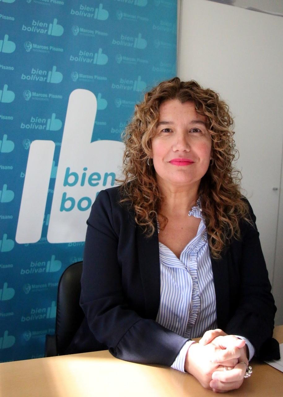 Lorena Urrutia deja la Dirección de Educación y asume a cargo de la delegación PAMI Bolívar