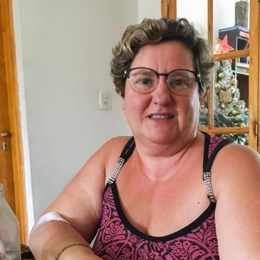 """Silvia Apesteguia: """"A esta enfermedad la estoy venciendo porque recibí plasma"""""""
