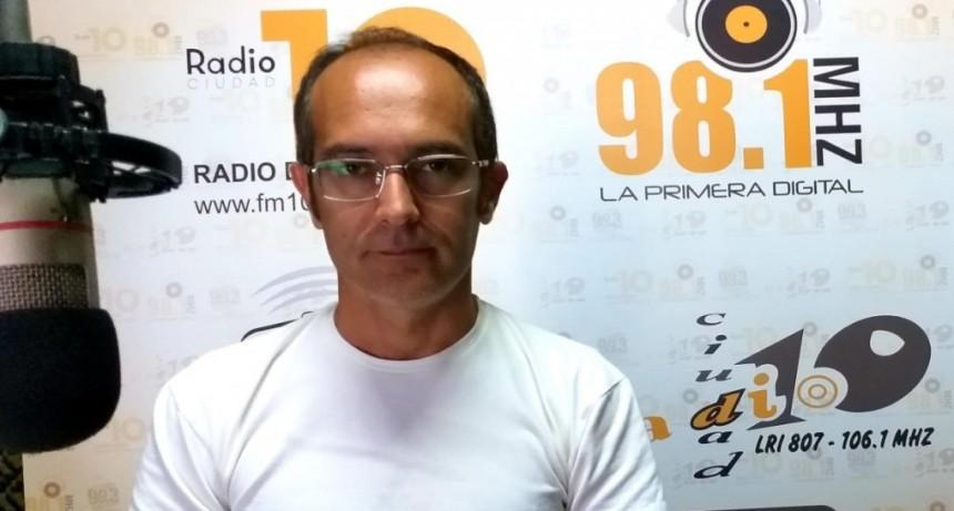 """Marcos Pisano: """"La nueva estación transformadora es 10 veces mayor a la existente y es visible, el resonador estará en pocos días. Estos logros son parte del Bolívar que queremos"""""""
