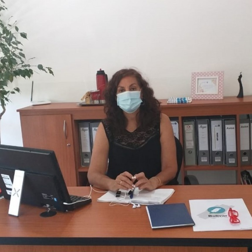 """María Estela Jofre: """"Trabajamos en la descentralización de los consultorios del hospital hacia los CAPS en los barrios"""""""