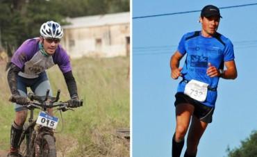 Franco Marchessi y Alejandro Ruíz se preparan para correr en Villa La Angostura