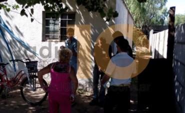 Allanamiento en barrio Los Zorzales