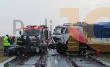 Dos bolivarenses fallecidos en un accidente ocurrido en la Ruta Nacional 205