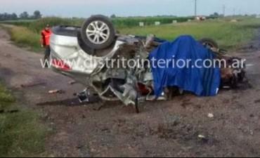 Coronel Granada: Un locutor de San Luis murió en un accidente en la ruta 188