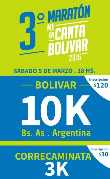 Se viene la 3ra edición del Maratón 'MeEnCanta Bolívar'