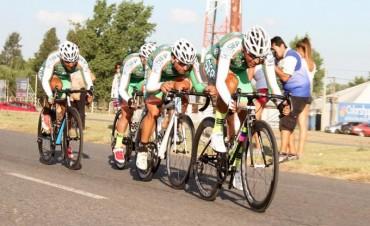 Ciclismo 'Doble Bragado: Juan Pablo Dotti 'voló' en la 'Contrarreloj'