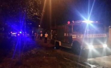 Hace instantes: Un incendio movilizó a Bomberos