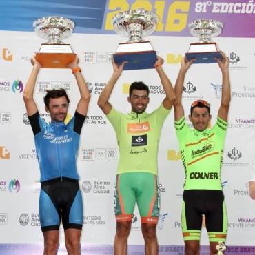 Juan Pablo Dotti se llevó el tercer puesto en la edición 81º de la Doble Bragado