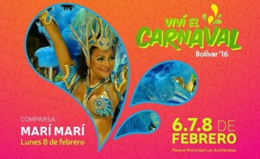 Tras la suspensión de la segunda noche de carnaval, el mismo cronograma se pasa para el martes; HOY LUNES MARÍ MARÍ