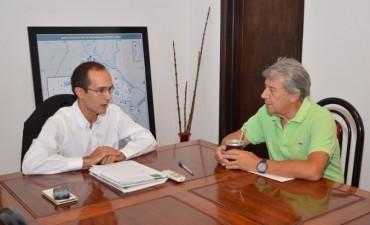 Municipio y Cámara Comercial: Marcos Pisano se reunió con Juan Emilio Colombo