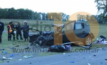 Fatal accidente en Ruta Nacional 226: Dos personas fallecieron