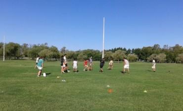 Rugby: 'Los Indios' realizaron una jornada recreativa en el Parque Las Acollaradas