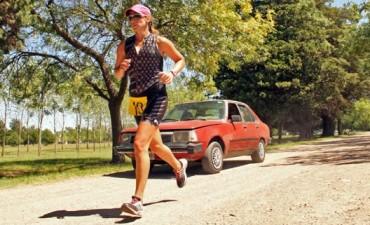 Triatlón Rural Olavarría: Marcelo Álvarez y Silvina Arredondo, consiguieron buenos puestos