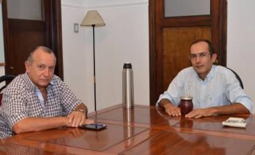 Marcos Pisano se reunió con Ricardo Criado