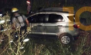 Ruta Provincial 65: Despiste sin heridos