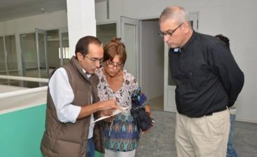Pisano e Ibáñez recorrieron el CEPLA junto a Griselda Iglesias