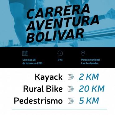 Triatlón: Se viene la Carrera 'Aventura Bolívar'